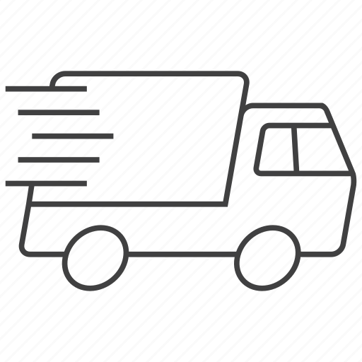 Delivery, express, truck, shipment, shipping, transportation, vehicle icon - Download on Iconfinder