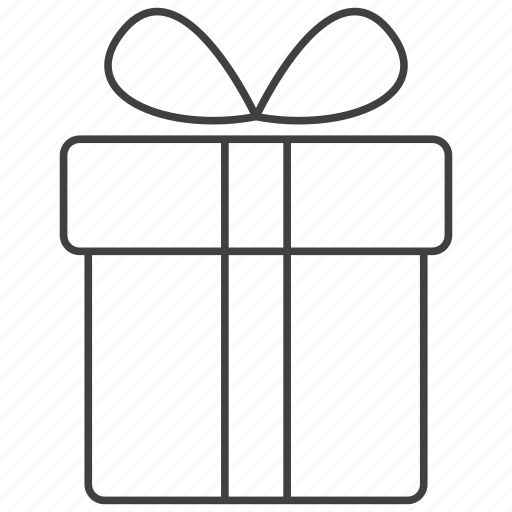 birthday, box, christmas, gift, package, present, product icon