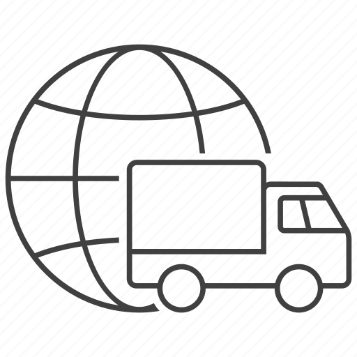 Delivery, global, globe, shipment, shipping, transport, transportation icon - Download on Iconfinder