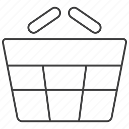 basket, buy, cart, ecommerce, packaging, shopping, store icon