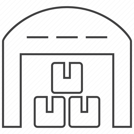 box, goods, package, product, storage, store, warehouse icon
