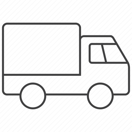 delivery, ship, shipping, transport, transportation, truck, vehicle icon