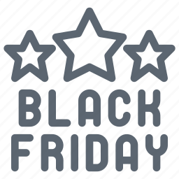 black friday, discount, ecommerce, friday, online, shopping, star icon