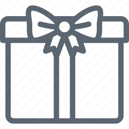 box, christmas, gift, present, ribbon, surprise icon