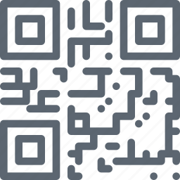 code, internet, qr, read, scan, technology icon