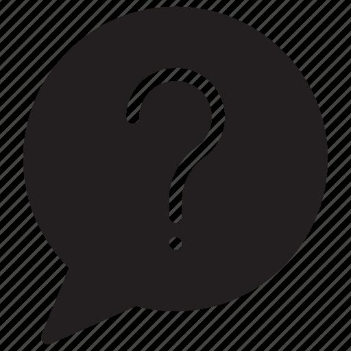 bubble, comment, message, unknown icon