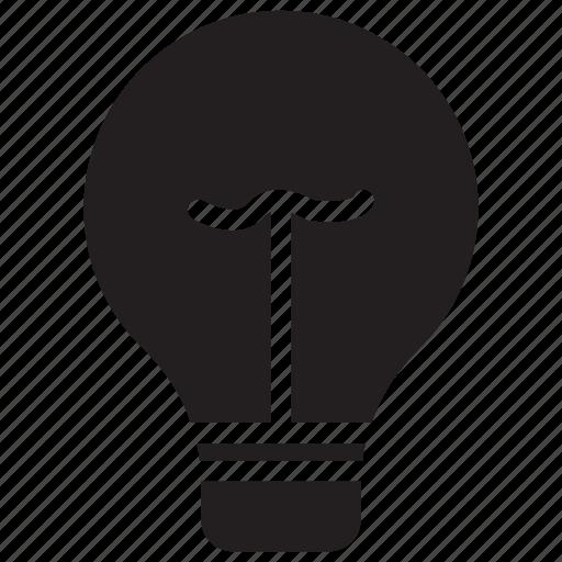 bulb, idea, lamp, light icon