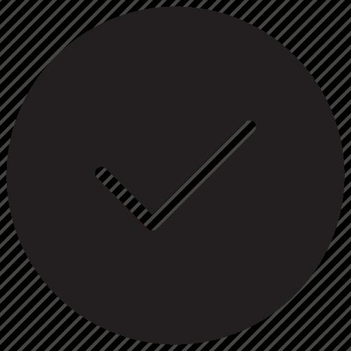 accept, agree, check, ok icon