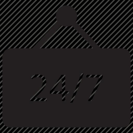 board, help, label, services icon