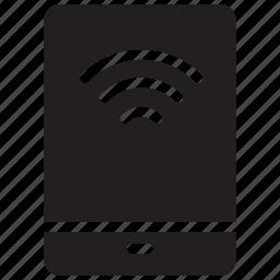 mobile, signal, technology, wifi icon