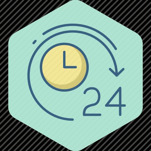 clock, four, hour, hours, time, timer, twenty icon