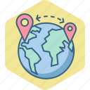 distance, gps, global, globe, locate us, location, map