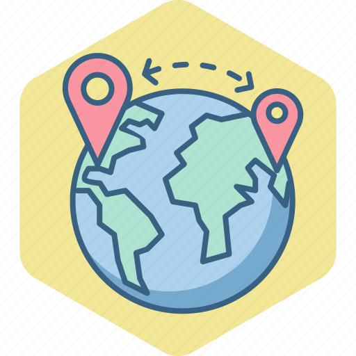 distance, global, globe, gps, locate us, location, map icon