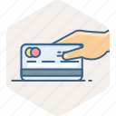 bank, card, credit, online, pay, payment, swipe icon