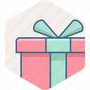 birthday, box, celebration, courier, gift, present icon