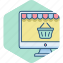 buy, cart, online, shop, shopping, website icon