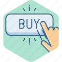 buy, click, ecommerce, online, purchase, shop, shopping icon
