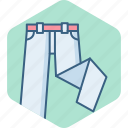 clothes, clothings, fashion, man, pant, pants icon
