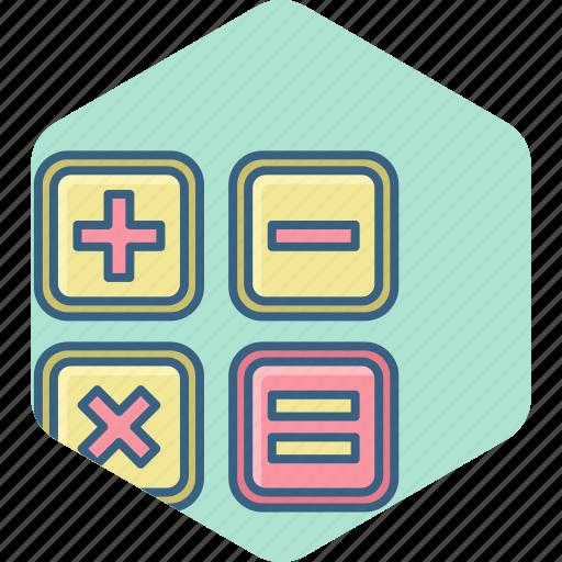 accounting, calc, calculate, calculation, calculator, math, special icon
