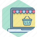 cart, online, purchase, shopping, webpage, website icon