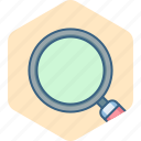 find, magnifier, search, seo, view, zoom icon