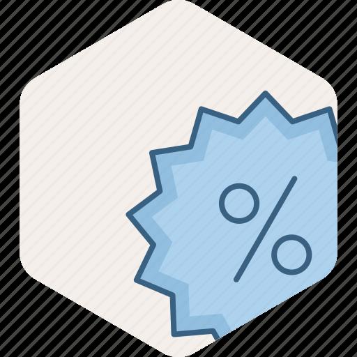 discount, ecommerce, percent, percentage, sale icon