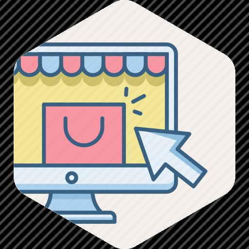 buy, click, online, sale, webpage, website icon