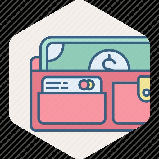 cash back, cashback, guardar, payment, purse, save, wallet icon
