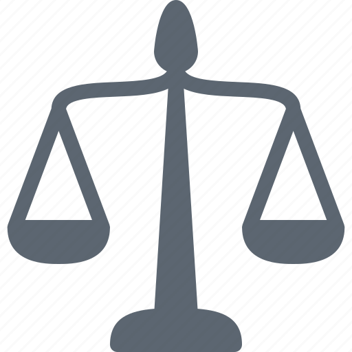 balance, court, justice, law, measure, scale icon