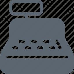 business, cash, cashier, financial, payment, register icon