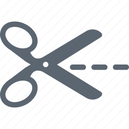 cut, cutting, equipment, out, scissor, tool icon