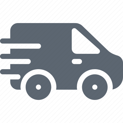 car, delivery, fast, shipping, transport, transportation icon
