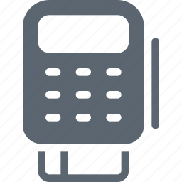 bank, card, credit, finance, pay, payment, pos icon