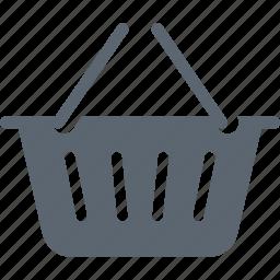 basket, cart, ecommerce, online, shop, shopping, web icon