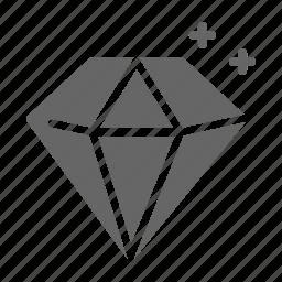 diamond, gem, jewel, luxury, premium, shine, stone icon
