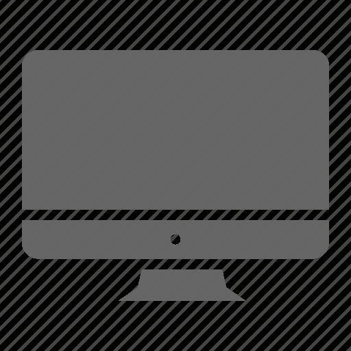 apple, computer, desktop, device, electronic, gadget, imac icon