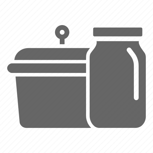 cook, jar, kitchen, store, utensil icon