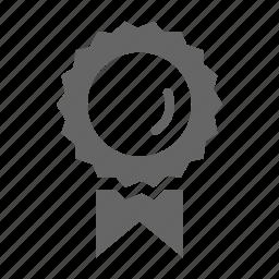 achievement, badge, honor, medal, ribbon icon
