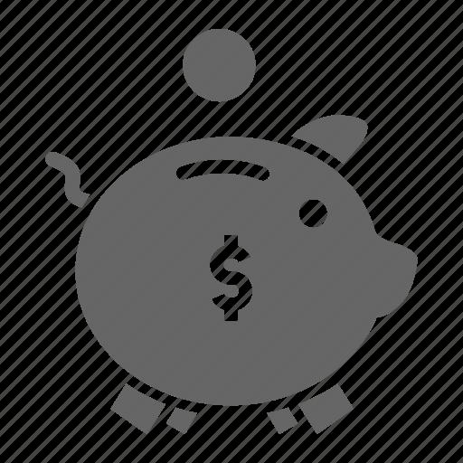 bank, banking, guardar, pig, piggy, save, savings icon