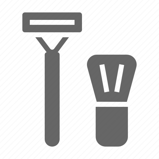 foam, groom, men, razor, set, shave, shaving icon