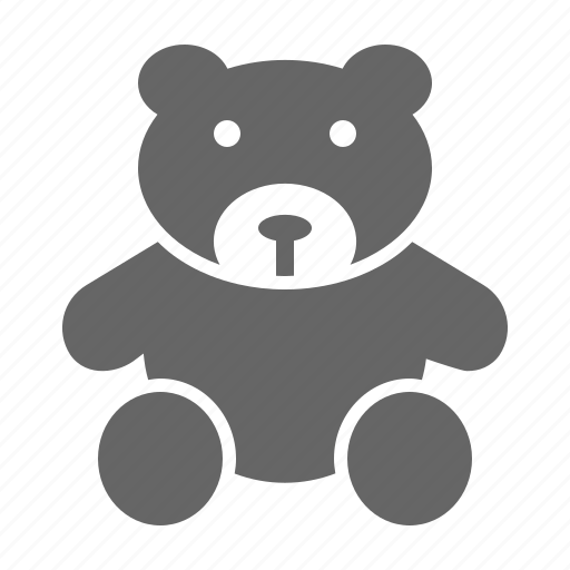 bear, cuddle, cute, kids, teddy, toy icon