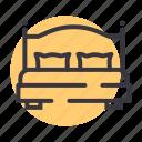 bed, cot, furniture, pillow, sleep, sleeping, hygge