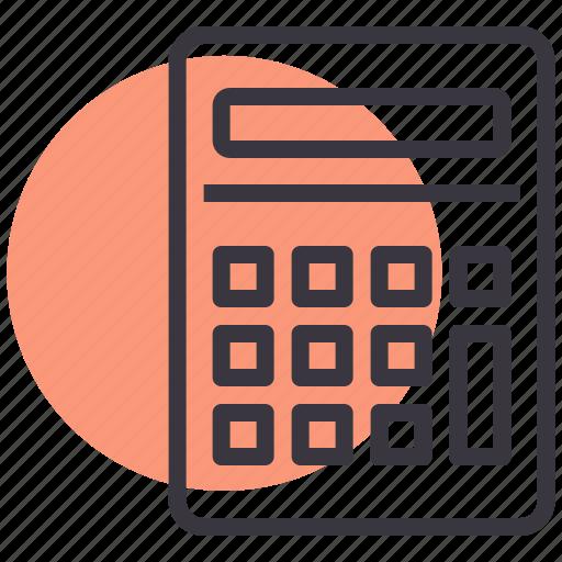 calculate, calculator, device, electronic, math, scientific icon