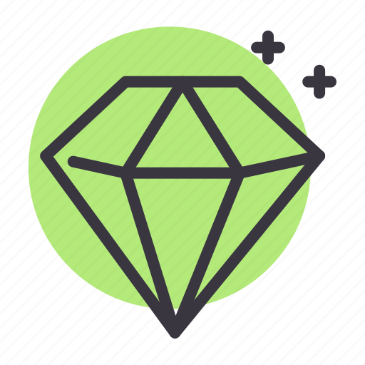 diamond, gem, jewel, luxury, premium, shine, stone icon