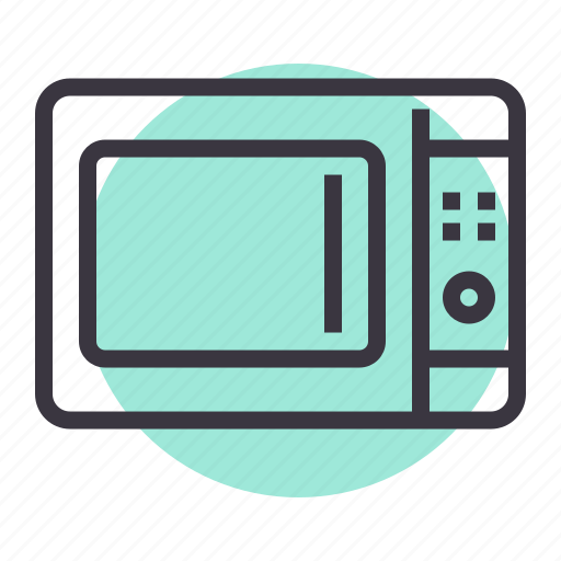 appliance, bake, cook, heat, kitchen, microwave, oven icon