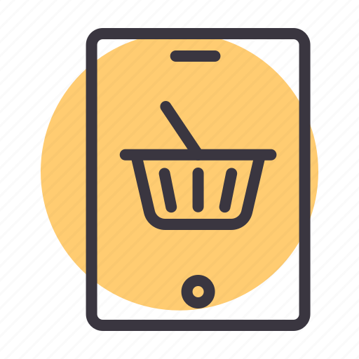 ecommerce, internet, mobile, online, purchase, shopping icon