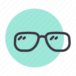 eyecare, eyeglasses, glasses, specs, spectacles, sunglasses, vision icon