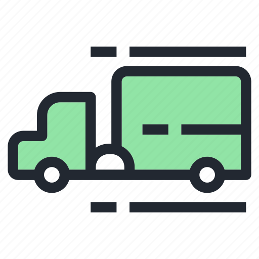 delivery, shipping, shopping, van icon
