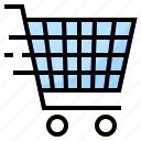 basket, cart, market, shopping, store icon