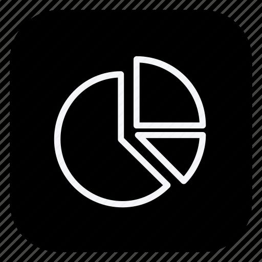 finance, money, online, pie chart, shop, shopping, store icon